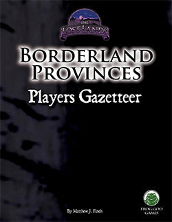 Borderland Provinces Players Gazetteer