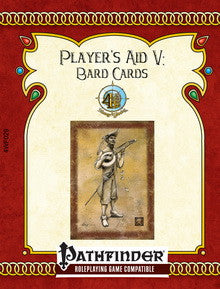 Player's Aid V: Bard Cards