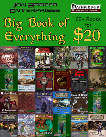 Jon Brazer Enterprises Big Book of Everything MEGABUNDLE