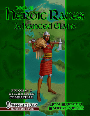 Book of Heroic Races: Advanced Elans (PFRPG)