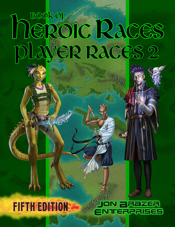 Book of Heroic Races: Player Races 2 (5e)