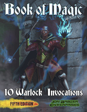 Book of Magic: 10 Warlock Invocations (5e)