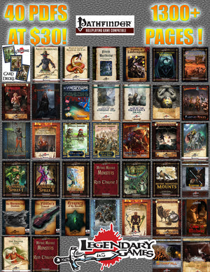 30 for 40 Pathfinder MEGA-BUNDLE