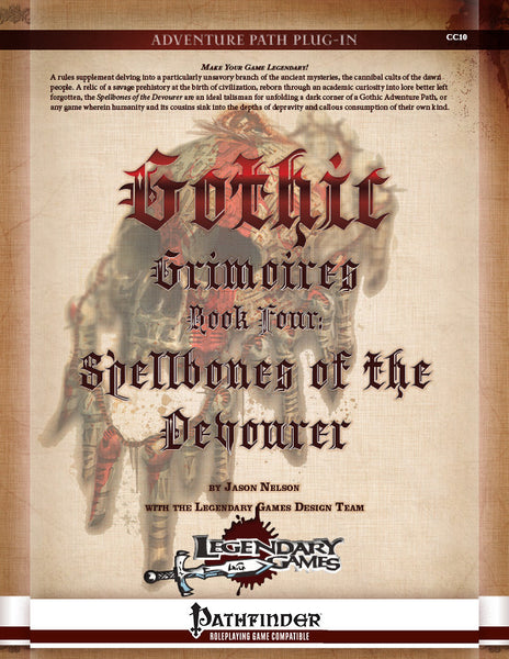 Gothic Grimoires: Spellbones of the Devourer