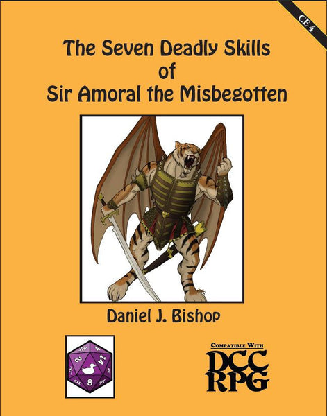 CE 4 - The Seven Deadly Skills of Sir Amoral the Misbegotten