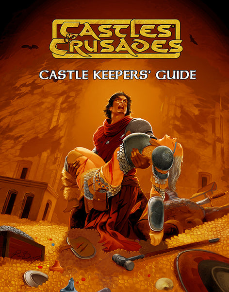 Castles & Crusades Castle Keeper's Guide Hardcover (color)