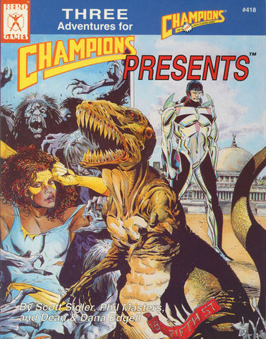 Champions Presents #1 (4th Edition)