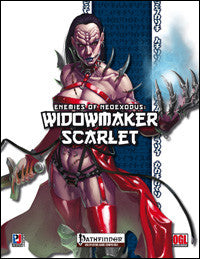 Enemies of NeoExodus: Widowmaker Scarlet