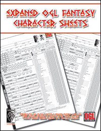 Expanded Character Sheet