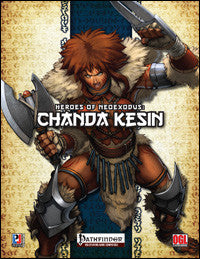 Heroes of NeoExodus: Chanda Kesin