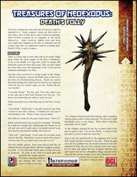 Treasures of NeoExodus: Deaths Folly