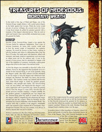 Treasures of NeoExodus: Mordant Wrath