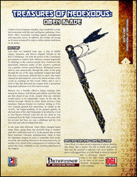 Treasures of NeoExodus: Omen Blade