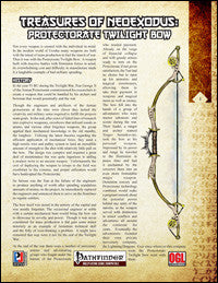 Treasures of NeoExodus: Protectorate Twilight Bow