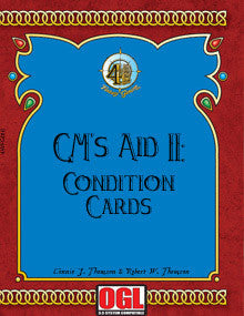 GM's Aid 2: Condition Cards