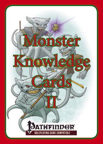 GM's Aid IX: Monster Knowledge Cards II