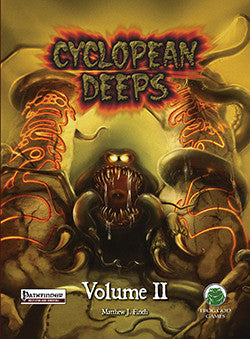 Cyclopean Deeps Volume 2 Swords & Wizardry