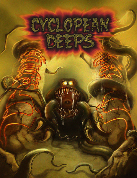 Cyclopean Deeps 2: Eye of the Titan (PFRPG)