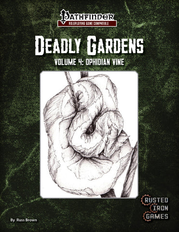 Deadly Gardens, Volume 4: Ophidian Vine