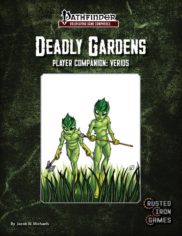 Deadly Gardens Player Companion: Verids