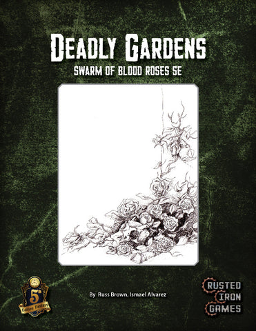 Deadly Gardens Swarm of Blood Roses (5E)