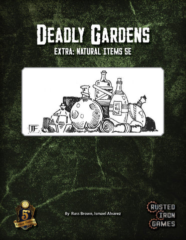 Deadly Gardens Extra: Natural Items (5E)