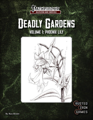 Deadly Gardens Volume 1: Phoenix Lilly