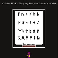 Annals of the Drunken Wizard - Critical Hit-Exchanging Weapon Special Abilities