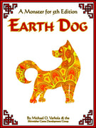 Earth Dog (A Monster for D&D 5E)