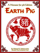 Earth Pig (A Monster for D&D 5E)