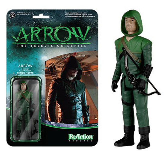 Reaction: Arrow - Green Arrow