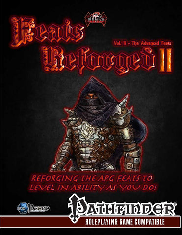 Feats Reforged Vol. 2: The Advanced Feats