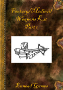 Fantasy Weapon Kit Part 1