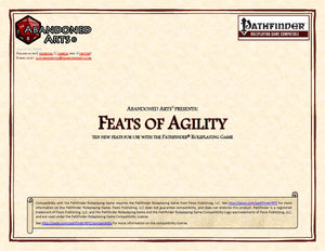 Feats of Agility