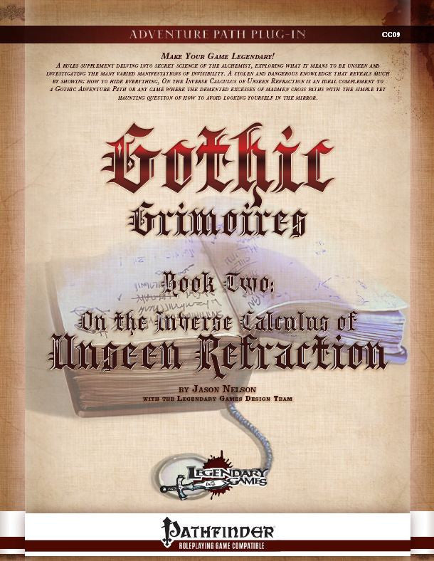 Gothic Grimoires: On the Inverse Calculus of Unseen Refraction