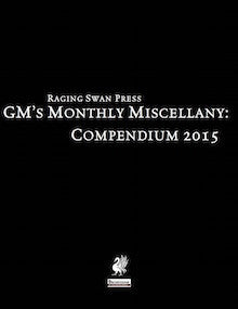 GM's Monthly Miscellany: Compendium 2015