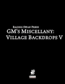 GM's Miscellany: Village Backdrop V