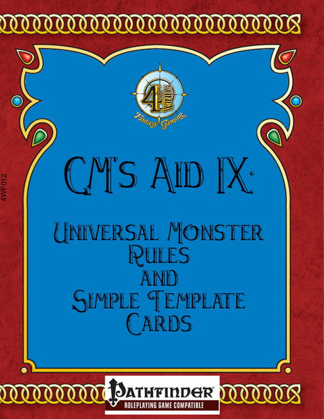 GM's Aid 7, 8, 9 Bundle