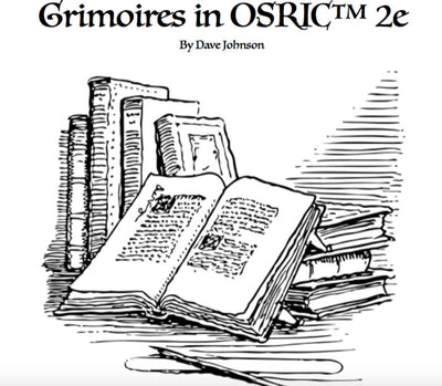 Grimoires in OSRIC