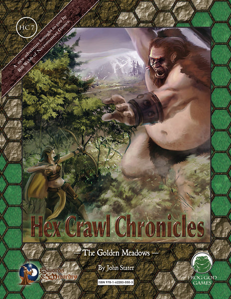 Hex Crawl Chronicles 7 The Golden Meadows (S&W)