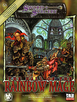 Hall of The Rainbow Mage (d20)