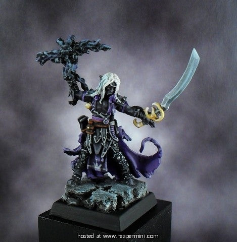Seltyiel Iconic Eldritch Knight (Pathfinder Miniature)