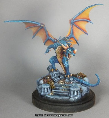 Pathfinder Red Dragon Miniature