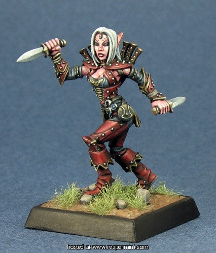 Merisiel, Iconic Elf Rogue (Pathfinder Miniature)