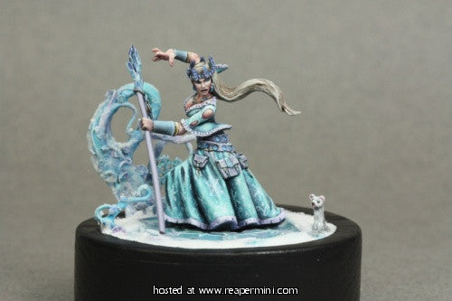 Winter Witch Miniature