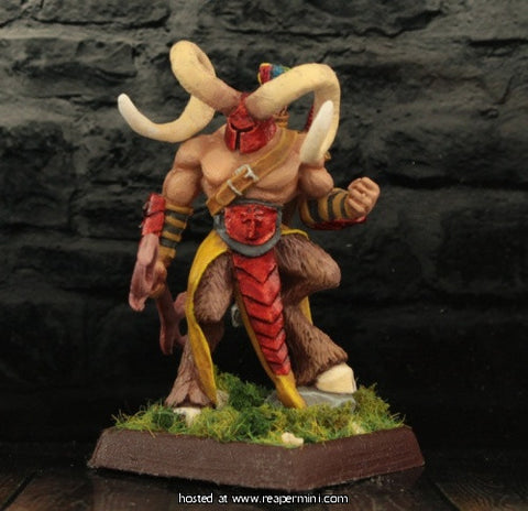 The Horned Hunter Miniature