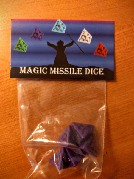 Magic Missile d4 Dice Set (5 dice)