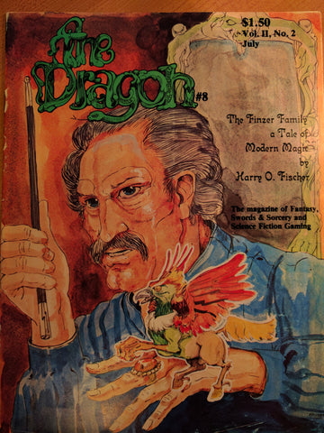 Dragon Magazine Vol. 2 No. 2 July 1977