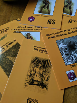 Purple Duck Games DCC RPG GRAB BAGS