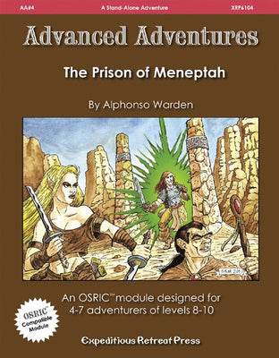 Advanced Adventures #4: The Prison of Meneptah